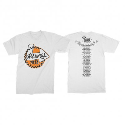 vans-warped-tour - Arrow Checker 2018 Tee (White)