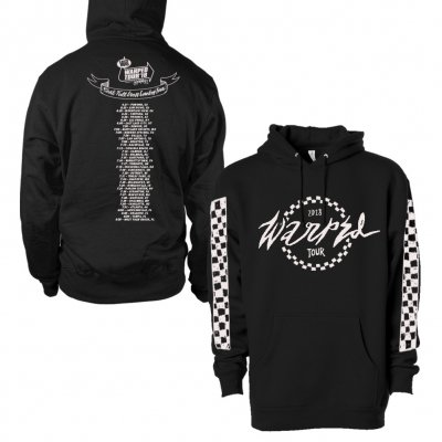 vans-warped-tour - Checkered 2018 Pullover (Black)