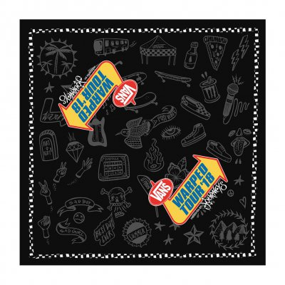 vans-warped-tour - Icons 2018 Tour Bandana (Black)