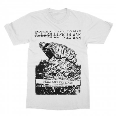 modern-life-is-war - End Times Tee (White)