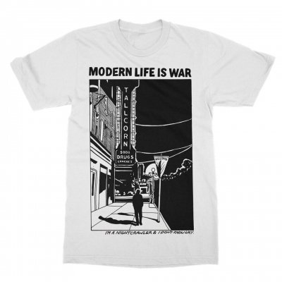 modern-life-is-war - Night Crawler Tee (White)