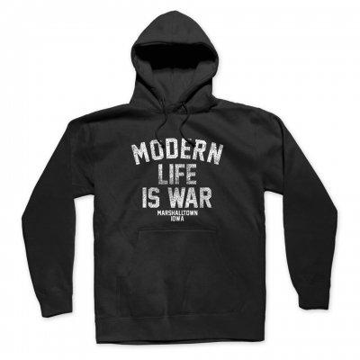 modern-life-is-war - Standard Logo Pullover Hoodie (Black)