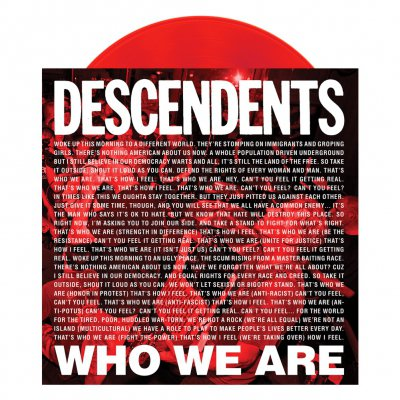 "descendents - Who We Are 7"" EP (Red)"