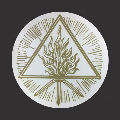 Behemoth - Gold Sigil Decal
