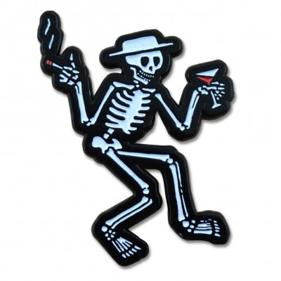 Skelly Enamel Pin