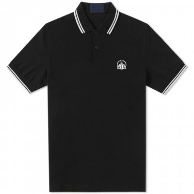 the-interrupters - Suspenders Polo Shirt (Black)