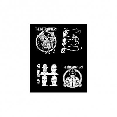 the-interrupters - Sticker Sheet