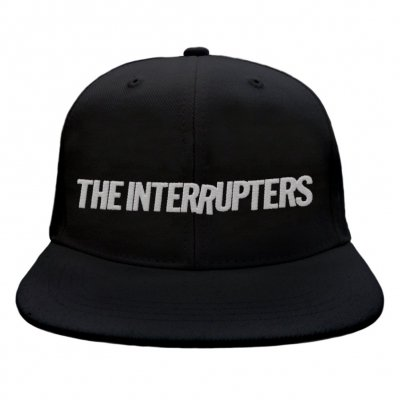 the-interrupters - Embroidered Logo Snap Back (Black)