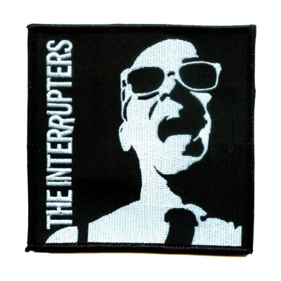 """the-interrupters - Say It Out Loud Embroidered Patch (5"""" x 5"""")"""