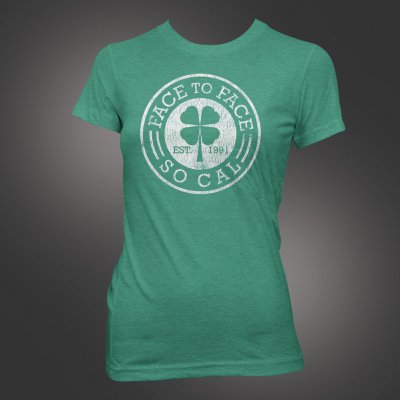 face-to-face - Clover Women's Tee (Heather Kelly)