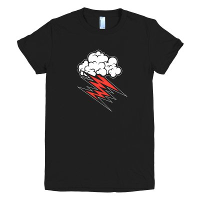 Cloud Women's T-Shirt (Black)