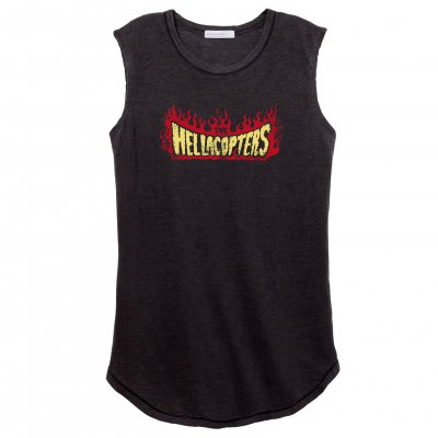 the-hellacopters - Flame Women's Muscle Tank (Black)