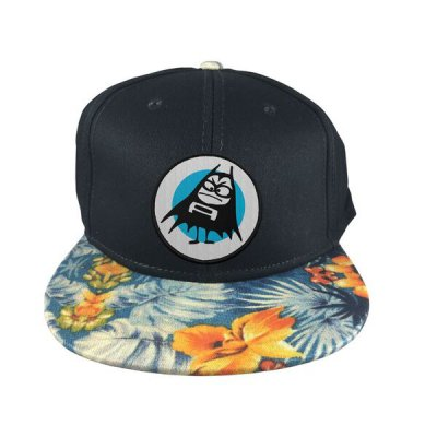 the-aquabats - Bat Floral Snapback Hat