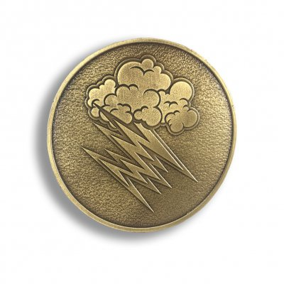 the-hellacopters - Cloud Belt Buckle (Gold)