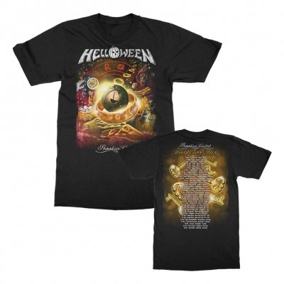 helloween - Collage 2018 Tour T-Shirt (Black)
