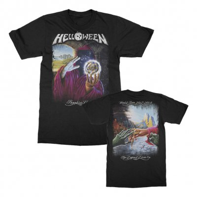 helloween - Keepers Legend T-Shirt (Black)