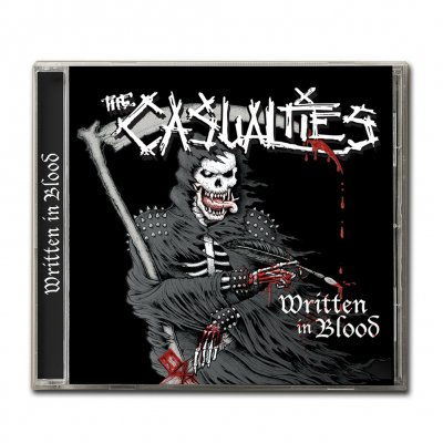 the-casualties - Written In Blood CD