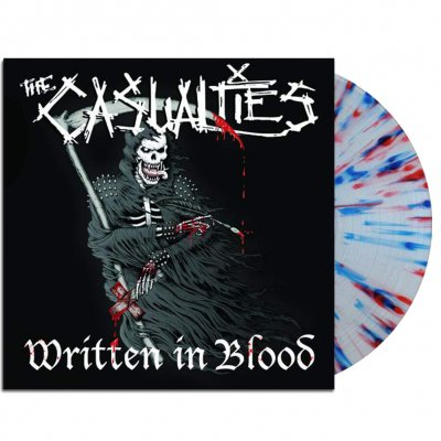 the-casualties - Written In Blood LP (Splatter)