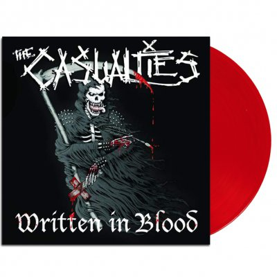 the-casualties - Written In Blood LP (Red)