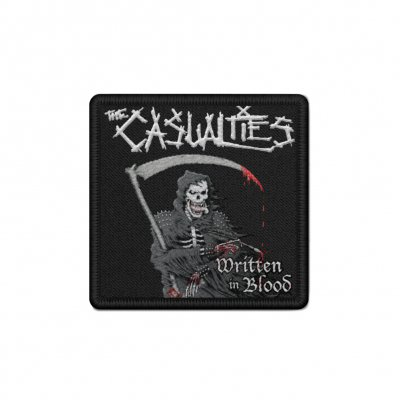 the-casualties - Written in Blood Patch