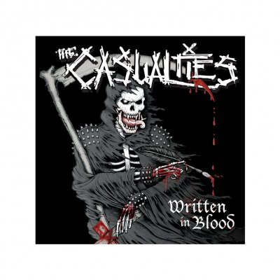 the-casualties - Written in Blood Sticker