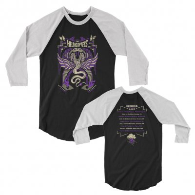 the-hellacopters - Snake 2018 Tour Raglan