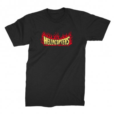 the-hellacopters - Flame T-Shirt (Black)