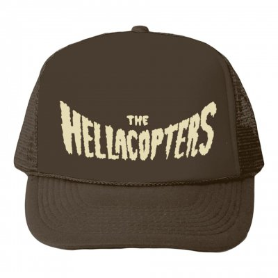 the-hellacopters - Logo Trucker (Brown)