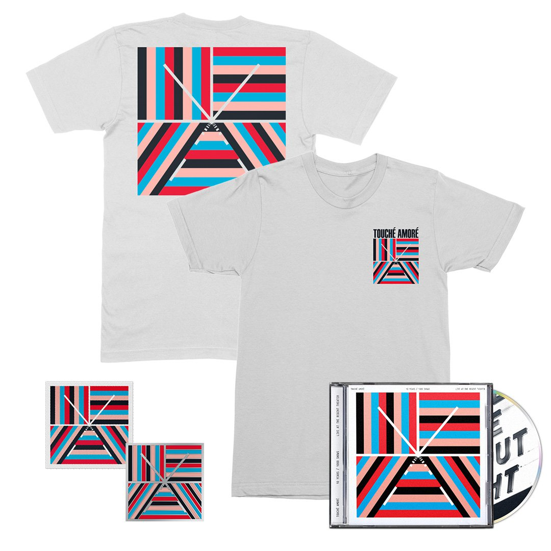 IMAGE | 10 Years / 1000 Shows CD + Tee + Patch + Pin Bundle