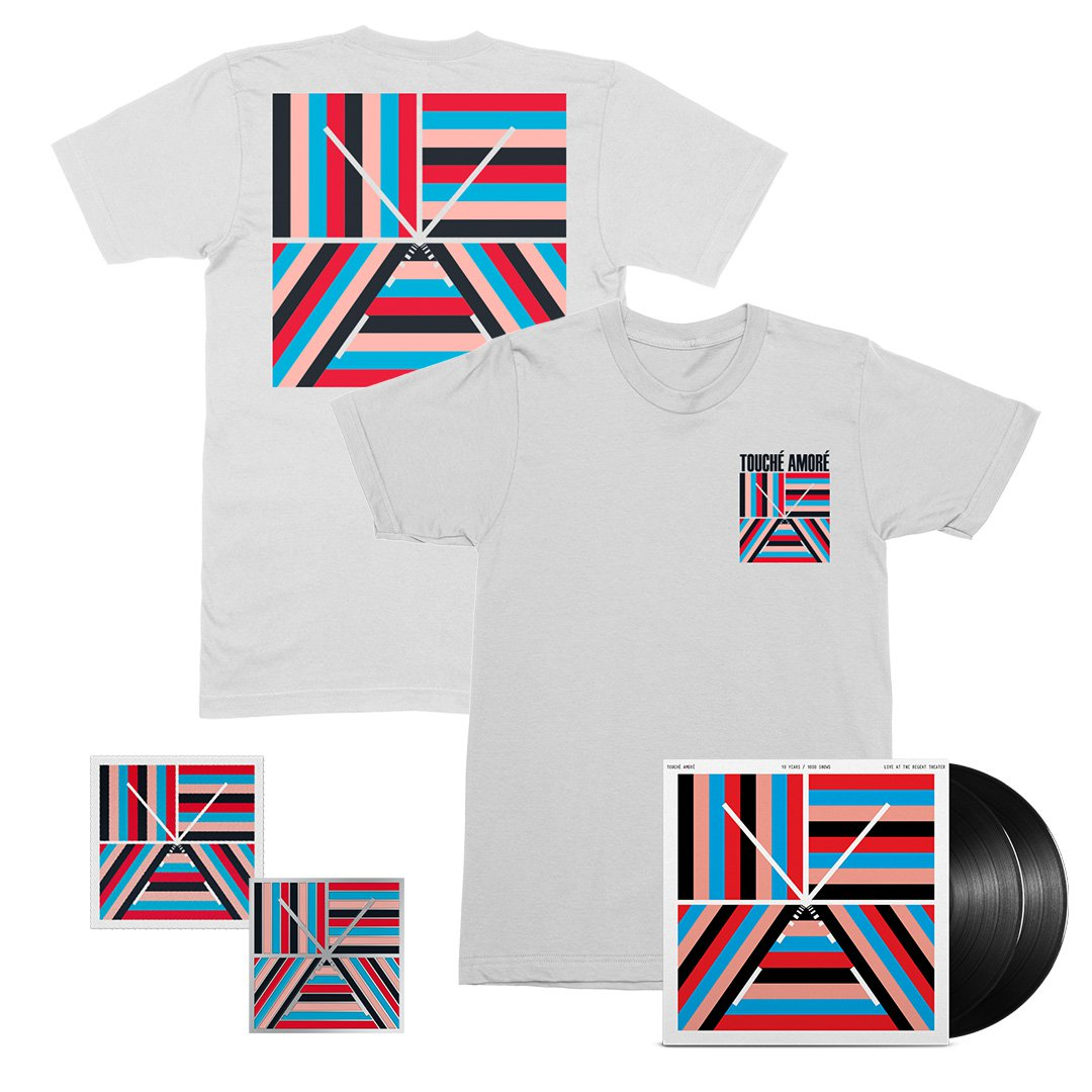 IMAGE | 10 Years / 1000 Shows 2xLP (Black) + Tee + Patch + Pin Bundle