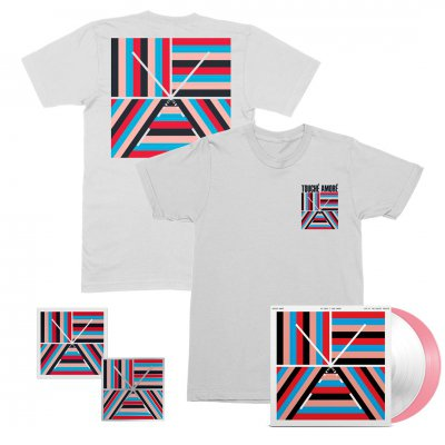 touche-amore - 10 Years 2xLP (Pink/White) + Tee + Patch + Pin Bundle