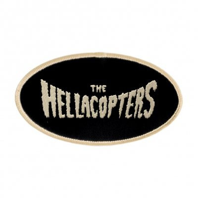 the-hellacopters - Logo Oval Patch