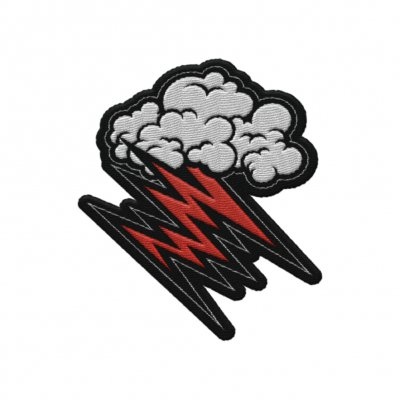 the-hellacopters - Cloud Die Cut Patch