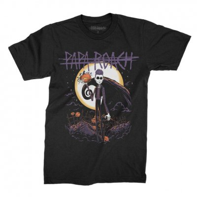 papa-roach - Jacoby Skellington Tee (Black)