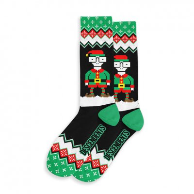 descendents - Milo Elf Holiday Socks