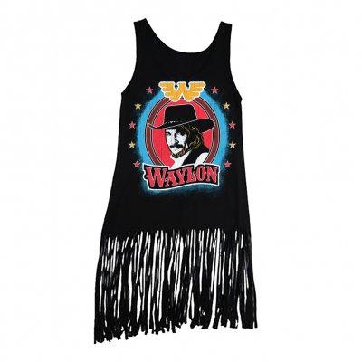 waylon-jennings - Waylon Jennings Bullseye Fringe Tank