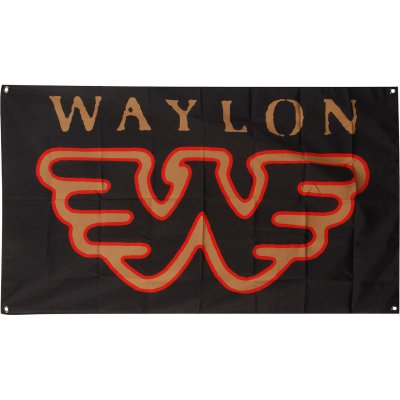 waylon-jennings - Flying W Flag