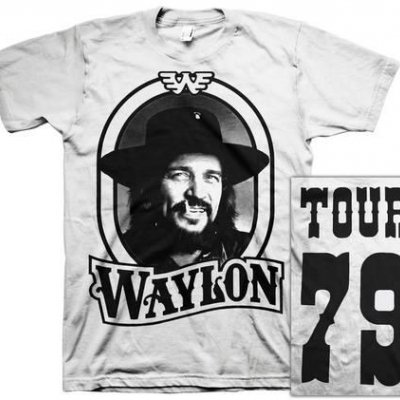 waylon-jennings - 79 Tour Tee (White)