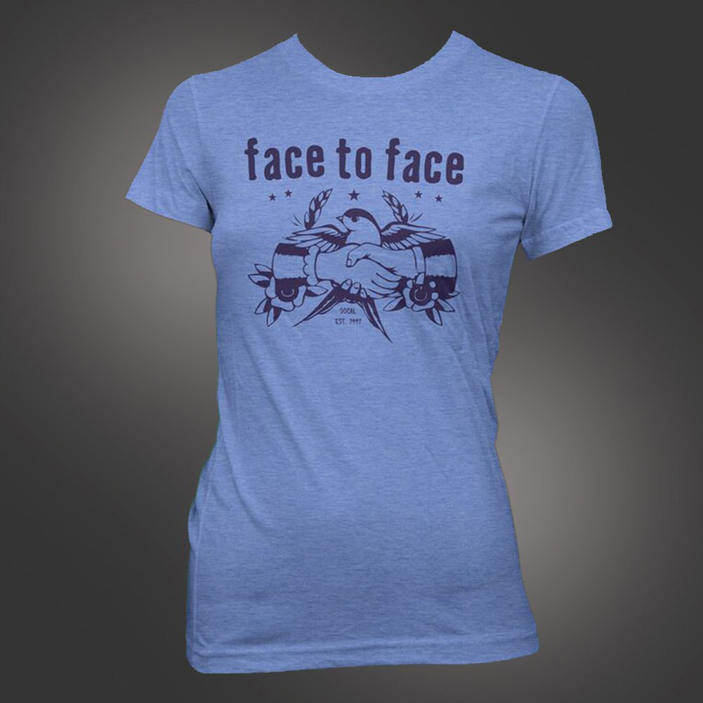 IMAGE | Sparrow Women's T-Shirt (Blue)