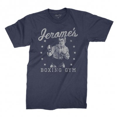 black-kat-kustoms - Jerome's Boxing T-Shirt (Navy)