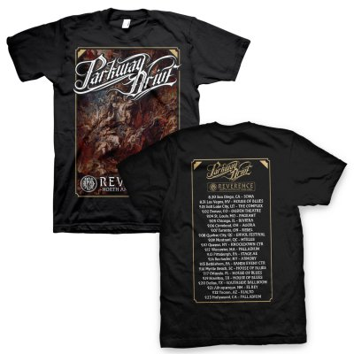 parkway-drive - Reverence US Tour Poster Tee (Black)