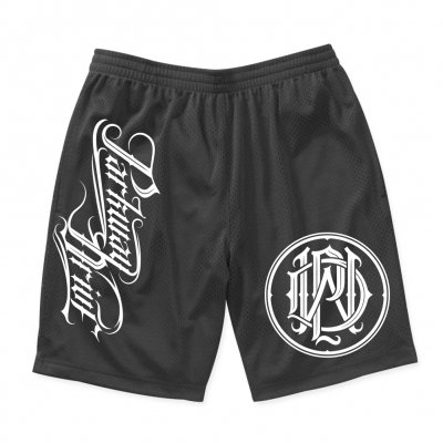 parkway-drive - Monogram Logo Athletic Shorts (Black)