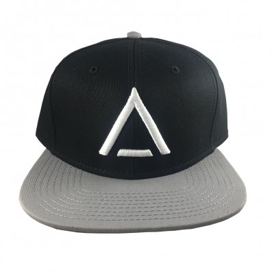 from-ashes-to-new - A Logo Snapback Hat (Black/Grey)