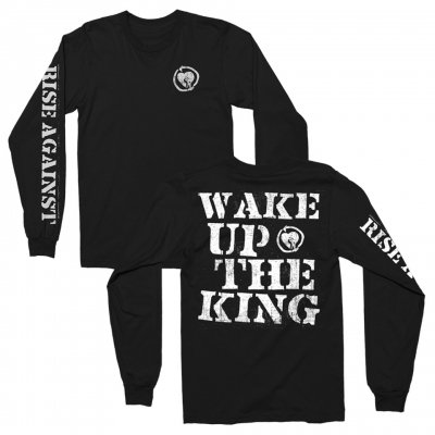 rise-against - Wake Up The King Long Sleeve (Black)