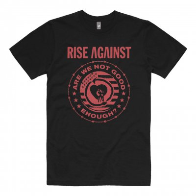 rise-against - Good Enough Tee (Black)