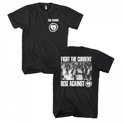 rise-against - Fight The Current Tee (Black)