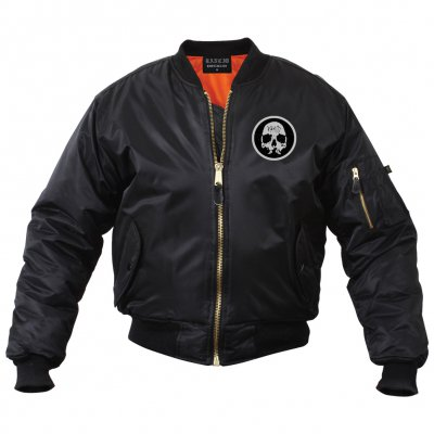 rancid - Skull Bomber Jacket (Black)