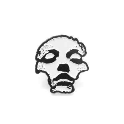 Jane Doe Enamel Pin (White)