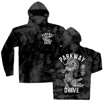 parkway-drive - Croc Pullover Hoodie (Acid Wash)