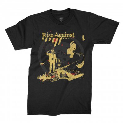 rise-against - Appeal to Reason Tee (Black)